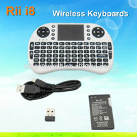 2.4G Rii Mini i8 Wireless air mouse With keyboard remote control for PC Pad Google Andriod TV Bo bo360 IPTV