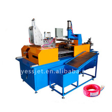 Full automatic electric cable wire coil winding wrapping machine
