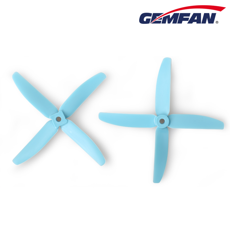 Gemfan 5040 Glass Fiber Nylon Propeller 4 blades small props for RC Toys Drone
