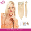 super quality one piece clip in human hair extensions