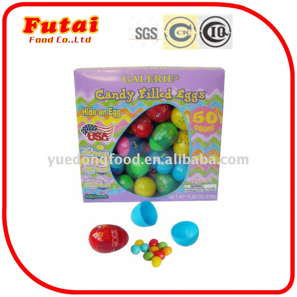 10g Colorful dinosaur egg toys candy