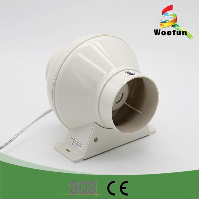 Extractor Fans Product : Ventilation plastic inline duct extractor fan buy