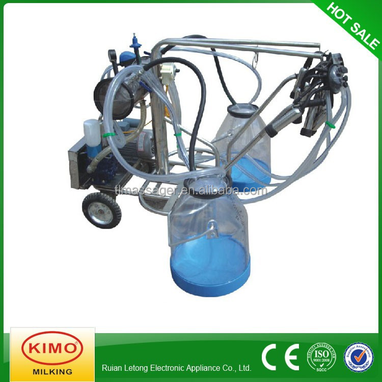 cheap price steady quality vacuum pump portable cow milker