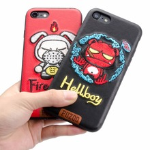 Mobile Phone Accessories, Embroidery Cell Phone Case Cute Painting Mobile Case
