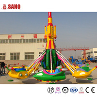 Factory Price Attractions Amusement Park Kids Playground Game Self Control Plane Rides in China