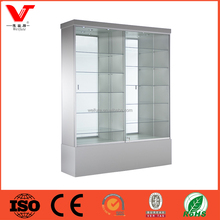 wall mounted glass display case