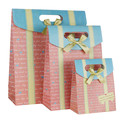 Fancy Christmas paper gift bags Lamination Gift Bags