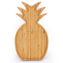 Pineapple Shape Unique Design OEM Kitchen Bamboo Tray