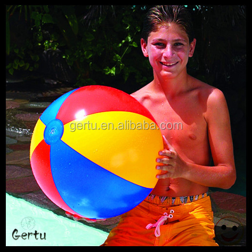 40cm inflatable logo printed beach ball