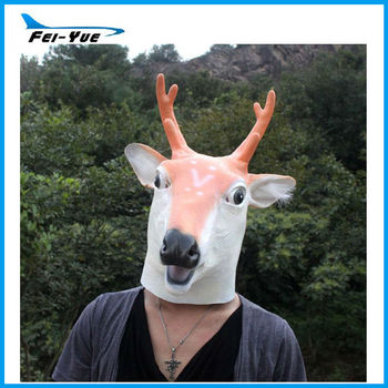 Mask latex deer