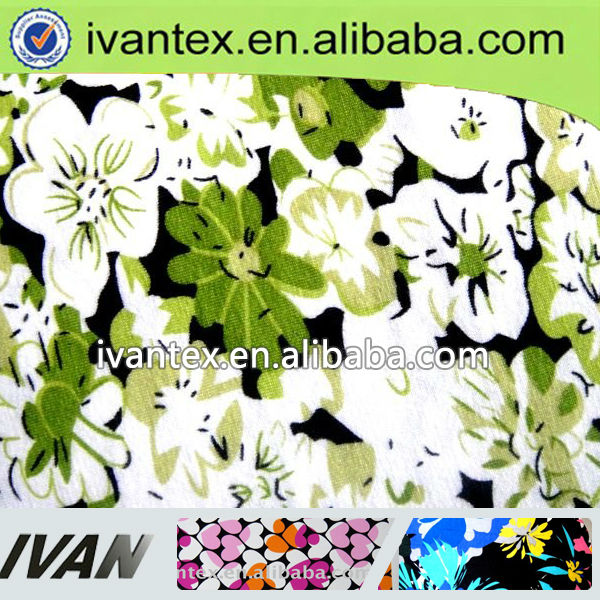 Fashion new design soft knitted weft polyamide nylon/cotton spandex fabric