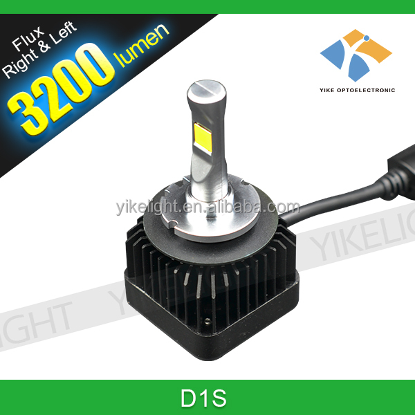 car headlights 5000k 35w 3200k led replace xenon d1s hid