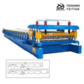 2016 hot sale trapezoidal steel roll forming machine for roofing sheet