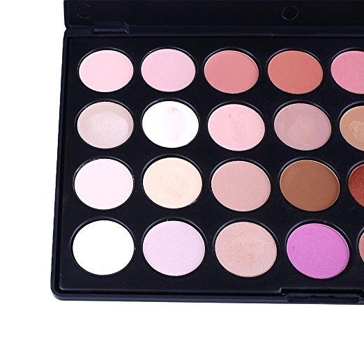 China cosmetics factory Plastic eyeshadow palette made in China