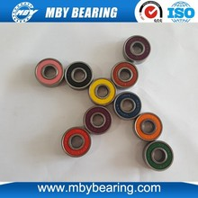 Hybrid Colorful 608-2RS Roller Skate Bearing