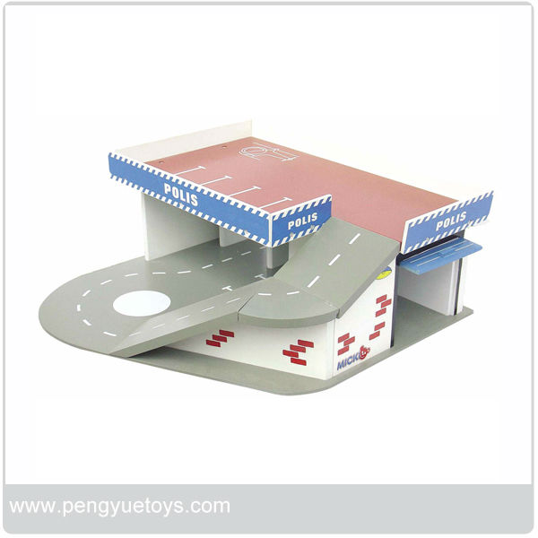 Madera diy sistema de parking lot conjunto de juguete para los ni os juguetes otros y hobby - Parking de madera ...