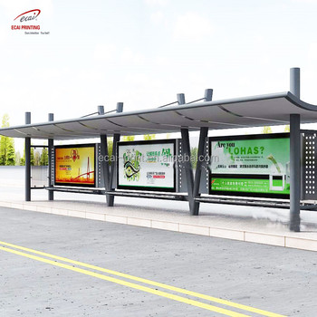 China custom cheap price of bus shelter advertising poster for promotion