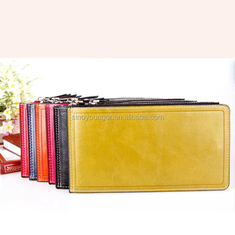 Wholesale ladies magic wallets with zipper