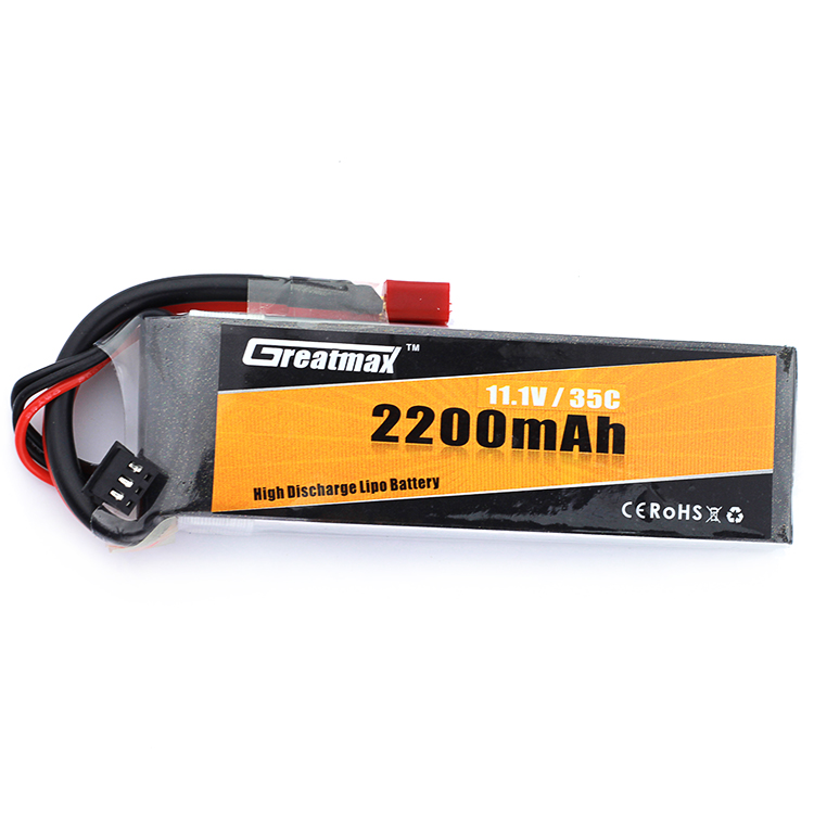 GreatMax Custom 65C Wholesale High C-Rating Battery Lipo 11.1 V