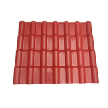 Waterproof Acoustic insulation pvc synthetic resin roof tile