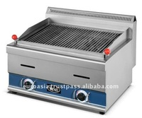 RESTAURANT EQUIPMENT - GAS LAVA ROCK GRILLER