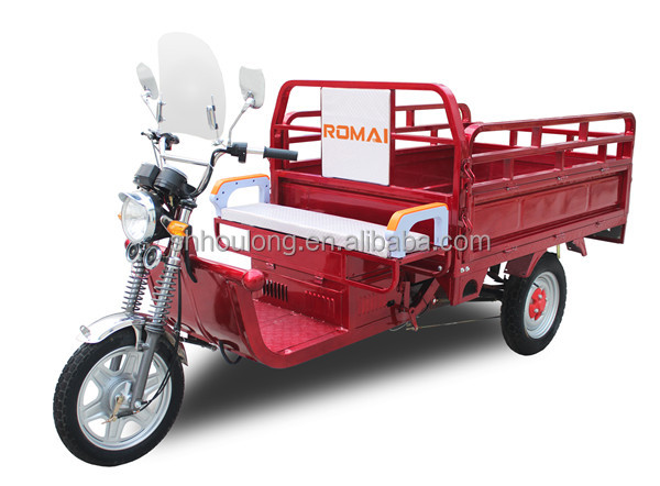 for cargo battery operated cycle rickshaw