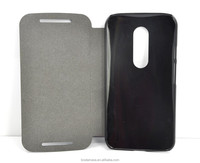 Flip PU Stand Leather Wallet cover case for Motorola Droid Turbo