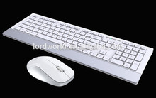 chocolate 2.4G Wireless Keyboard and Optical Mouse Combo for Tablet Desktop PC