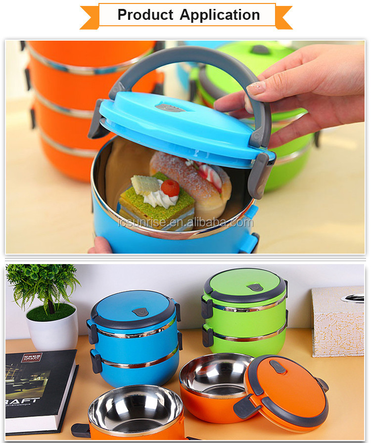 High Quality Stainless Steel Insulated Lunch Box