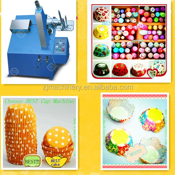 High speed paper muffin cups forming machine