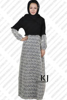 2014 Kyle and jane summer muslim abaya for sale with lace WAB 8016