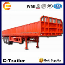 High Quality 3Axles 40Tons wall side semi trailer to Mozambique