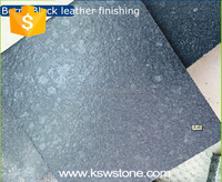 G684 Berry black crystal black basalt pavers
