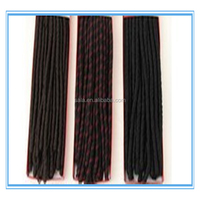 Wholesale dreadlock marley hair extensions yaki fusion hair extension for black hair as christmas ornaments