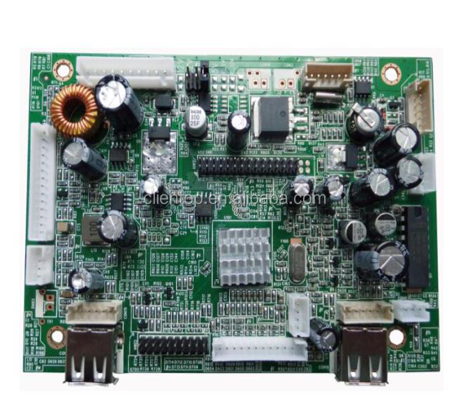 2017 factory price 1920 X 1200 Full HD LVDS decoding+LCD Controller board support IR + split screen