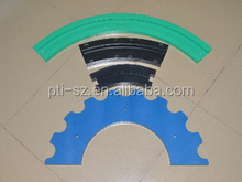Machined PTFE part/Anti-static part/Special shaped plastic part