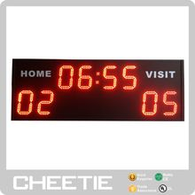 Alibaba China Large Wall Mounted Led Display Portable Electronic Basketball Scoreboard