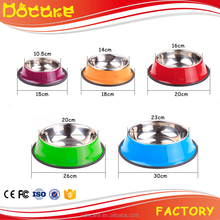Pet stainless antiskid bowl Bowl