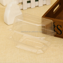China wholesale customized PET high quality retail food plastic Container / blister clamshell for food