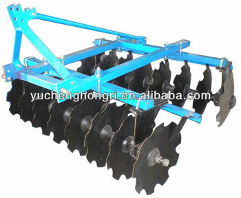 Light duty agricultural disc harrow farming machine