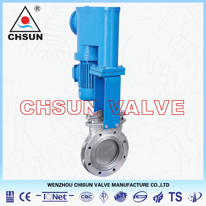 QB Stainless Steel Electric-hydraulic Knife Gate Valve