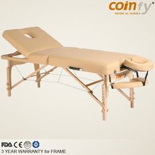 COMFY CFMS03RF Wood Portable Luxury Massage Table