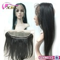 Hot selling Brazilian virgin human hair closure 360 lace frontal