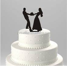 popular acrylic cake toppers wedding cake decorations in stock