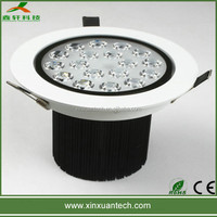 Modenrn house, hotel, office led 9w 12w 15w led ceiling light downlight lamp lights fitting