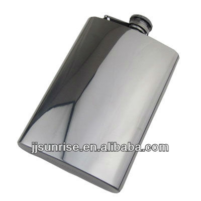 stainless steel 8oz hip flask