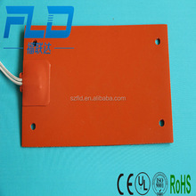 Customize flexible silicone electric heating cooling pad