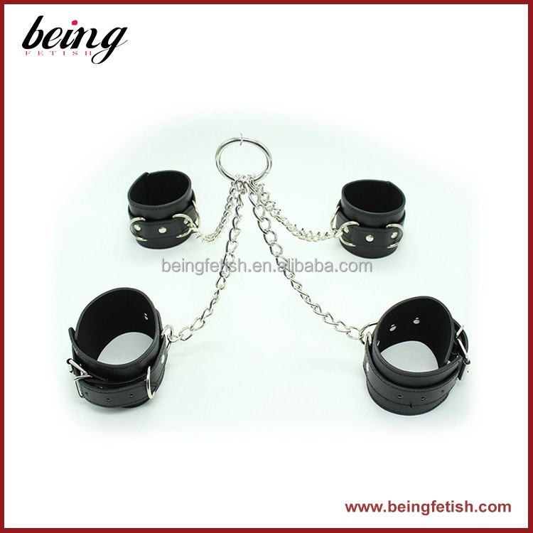 Girl bondage plastic handcuffs toy gift Sex Girl factory sell