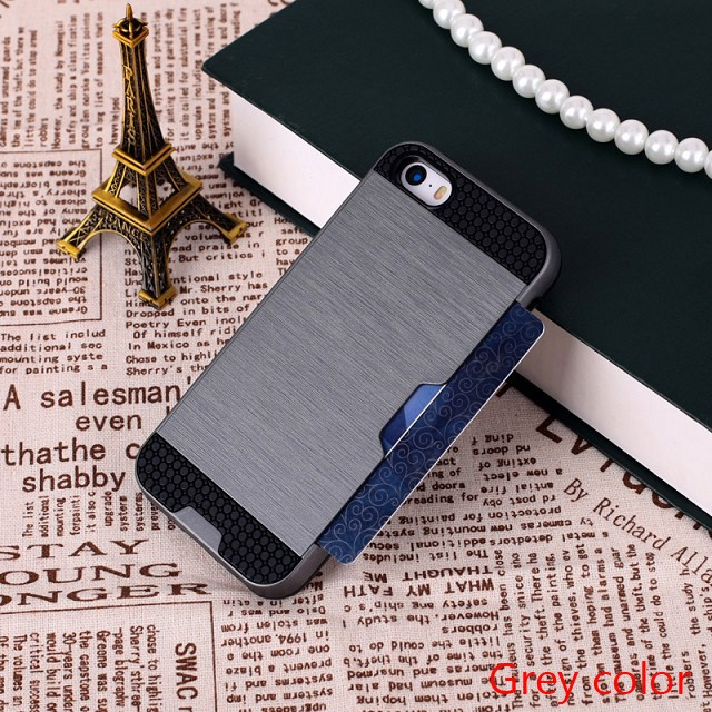 New products waterproof armor wallet phone case for iphone 6