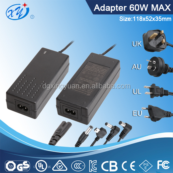 AC adapter power supply for pumps/LED/lamp/CCTV ac adapter 24v 2.5a